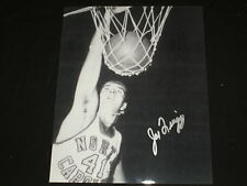JOE QUIGG Signed UNC Tar Heels 8x10 Photo North Carolina Basketball