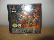 Playstation 1 Ps1 Gioco Disney's Aladdin Nasiras Rache con Istr. e Custodia #c