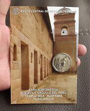 1 SOL 2013  COIN BLISTER RIQUEZA ORGULLO DEL PERU  TEMPLO INCA - HUAYTARA # 12