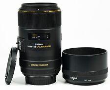 Sigma EX 105mm F/2.8 OS HSM DG Lente Canon EF Lente