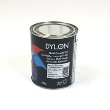 DYLON Ebony Black Multi-Purpose Dye 500g Tin - BRAND NEW. (LAST ONE!!!)