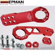EPMAN Racing Aluminum Front Rear Tow Hook kit Anodized Red * Universal Honda