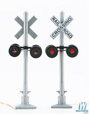 HO Scale - WALTHERS 949-4333 CROSSING FLASHERS 2-Pack with Working LED's