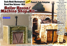 Boiler House / Machine Shop Kit Scale Model Masterpieces/Tom YORKE 1:48/On30/On3