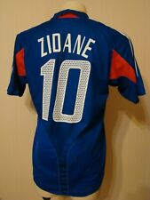 FRANCE 2004 2006 ORIGINAL FOOTBALL SOCCER HOME JERSEY SHIRT ADIDAS 600222 ZIDANE