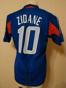 FRANCE 2004 2006 ORIGINAL FOOTBALL SOCCER HOME JERSEY SHIRT ADIDAS 600222 ZIDANE