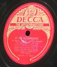 The Dutch Swing College Margie At the jazzband ball 78 trs / 78 RPM 10'' EX