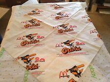 Baltimore orioles cloth doily