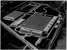 1953 Original Photo by FORD MOTOR CO. aerial view new plant in Sao Paulo Brazil