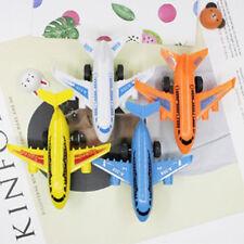 UK 2Pcs Inertia Pull Back Airplane Airplane Model Toys Novelty Kid Gift