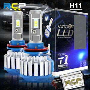 H11 H8 H9 LED Headlight Conversion Kit 1800W 195000LM High/Low Beam Bulbs 6000K