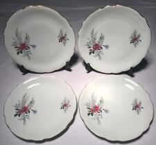Lot3 De 4 Grandes Assiettes Plates En Haute Porcelaine Du Berry CP D 24 Cm