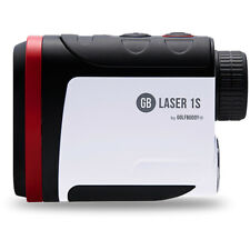 GolfBuddy láser 1S pendiente telémetro láser, Negro/Blanco/Rojo