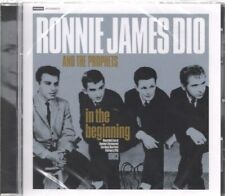 RONNIE JAMES DIO AND THE PROPHETS In the Beginning CD Europe Grey Scale 12 Track
