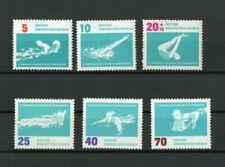 [D520] Germany-DDR 7/8/1962 European Swimming Championship MNH set.