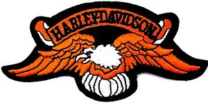 Harley Davidson® Vintage Winged Eagle Arch  Patch Emblem