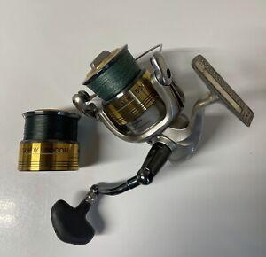 Shimano Stradic 5000 FI Spinning Reel + Extra Spool Daiwa Accurate Penn Abu