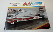 1992 signed photo ~ MIKE DUNN ~ NHRA