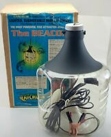 The Beacon Minnow Lighted Bucket.VINTAGE. Submersible.NOS. Crappie.