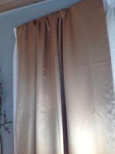 """JCPenney curtains 54""""x84"""" goldish color 6pcs"""