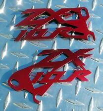 Kawasaki ZX10 RED Cut Heel Guards ZX10R 16 15 14 13 12 11 10 09 08 07 06 05 04