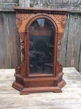 Antique Ansonia Walnut Kitchen / Shelf / Mantel Clock Case.