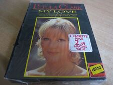 DOUBLE CASSETTE TAPE BOX SET NEW SEALED - PETULA CLARK - MY LOVE