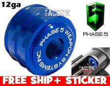 PHASE 5 Low Drag HIGH Visibilty 12 gauge Magazine Follower 7075 Billet BLUE 12ga