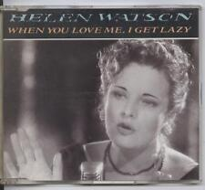 Helen Watson - When You Love Me, I Get Lazy (CD Single)