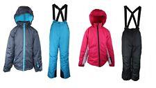 Girl Ski Suit 2 Pieces Pants + Jacket Snow Trousers +