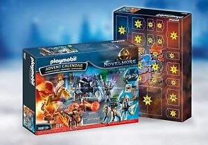70187 Playmobil Novelmore 72 Piece Christmas Advent Calendar