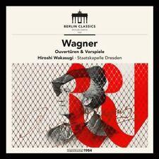 Richard Wagner: Overtures & Preludes [New CD]