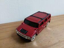 Maisto 2003 Hummer H2 SUV Metallic Red Diecast 1:64 Scale