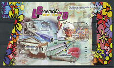 Spain 2017 MNH The 70s Generation Pope John Paul II 4v M/S Popes Stamps