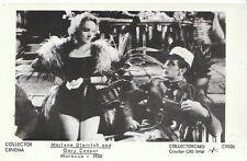 Cinema Postcard - Actors - Marlene Dietrich and Gary Cooper - Morocco 1930 U871