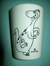 Vintage 1960s Dino from The Flintstones Melmac Plastic Cup Boonton Molding Co.!