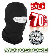 Nuevo Negro Pasamontañas una Talla Unisex Moto Moto Ciclo Ski Mtb Enduro Mx