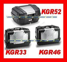 KIT 3 VALIGIE KAPPA KGR33 + KGR46 + KGR52 GARDA  NEW  TRIS BORSE = TREKKER