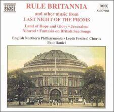 Rule Britannia Last Night Of The Proms CD 1996 Paul Daniel Leeds Festival Chorus