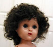 BABY LAUREN Mohair WIG Dark Brown size 5 for Ginny/Muffie/baby/toddler/boy DOLLS