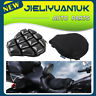 Motorcycle Inflatable 3D Seat Cushion Non-slip Breathable Cover Mesh Air Pad AU