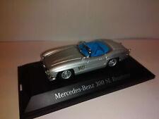 Modell Mercedes-Benz 300 SL Roadster Silver 1957 - 1/43 Schuco