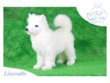 Samoyed Plush Soft Toy Dog by Hansa. 2709