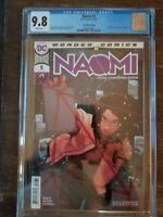 Naomi #1 CGC 9.8 Convention Edition 1st App Of Naomi tv show! hot and HTF!!