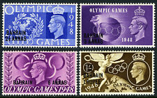 Bahrain 64-67, MNH. GB surcharged. Olympic Games, Wembley, 1948