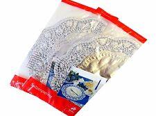Tortenspitze Silber rund 36 cm, 4 Stück/Pack Lebensmittel Papier Dekospitze