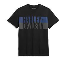HARLEY-DAVIDSON MENS BLOCK LETTER TEE 96369-21VM