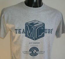 Dr Who-Team Cube T-Shirt Genuine BBC size Large - Black-Dark Bunny