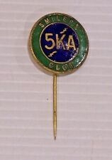 VINTAGE RADIO 5KA SMILERS CLUB METAL ENAMEL BADGE LAPEL COAT HAT BROOCH TIE PIN