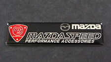 Mazdaspeed Badge MX3 MX5 MX6 RX7 RX8 MAZDA 2 3 5 6